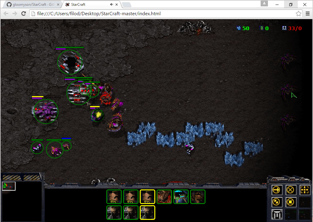 Play StarCraft on your Browser, with an Unofficial Port 06