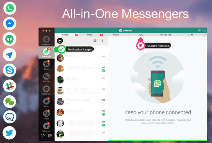How To Have All Chat Services In One App